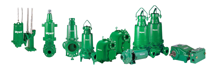 myers pump distributor