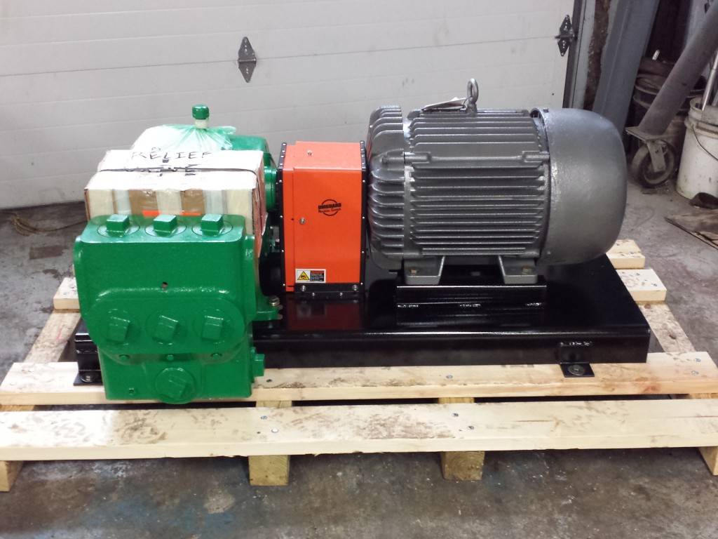 Myers DP 70-22 Custom Made Pump Skid for Filtration Application